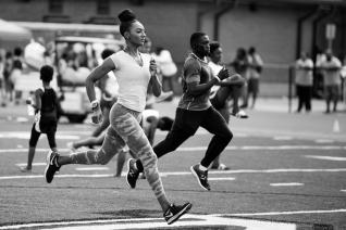Day 1 of the 2018 Atlanta Georgia Relays held at New Manchester High School. (B. Alyssa Trofort/Atlanta Georgia Relays)